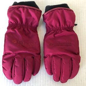Columbia Womens Waterproof Ski Gloves Medium